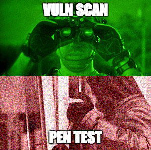 Penetration Test vs Vulnerability Scan